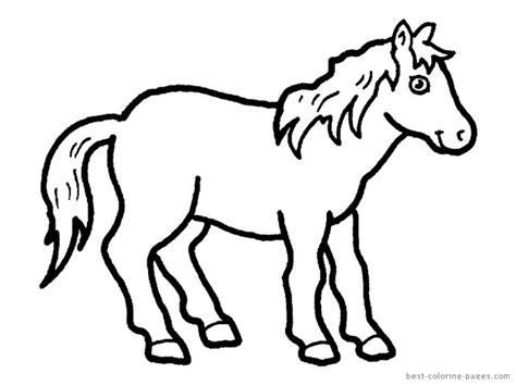 kolorowanki konie kucyki obrazy wydrukowania