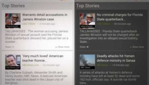 newspaper theme mobile google news for mobile reved adds new themes and card