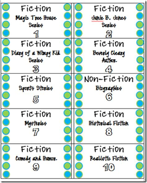 printable genre labels mrs teachnology efficient classroom library tool and