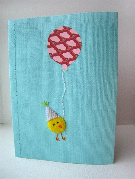 Handmade Greeting Card Designs For Birthday - handmade greeting card ideas with balloons
