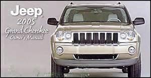 2005 jeep grand original owner s manual 05