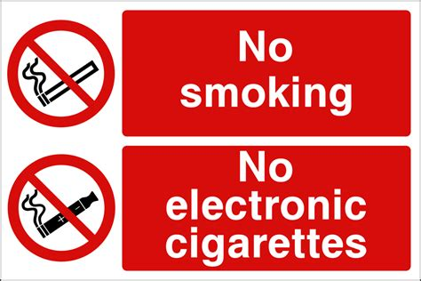 no smoking sign e cigarettes no smoking no electronic cigarettes