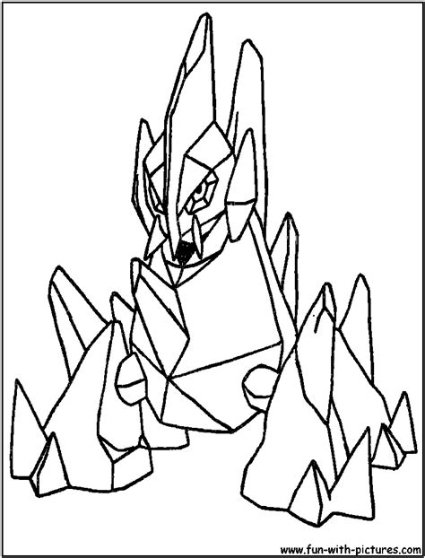 pokemon coloring pages gigalith gigalith coloring page