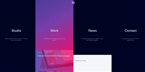 homepage design trends web design trends for 2017