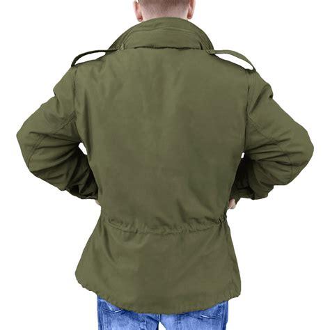 Jaket Parka Merk Vans m65 field jacket militaire jas leger herenen combat