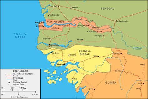 africa map gambia gambia petax en dakar