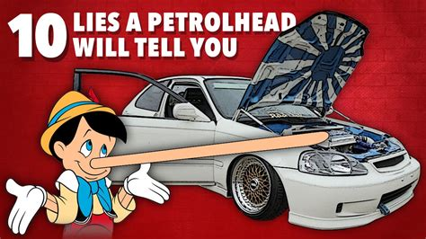 10 Lies He Will Tell by 10 Lies A Petrolhead Will Tell You About Their Project Car