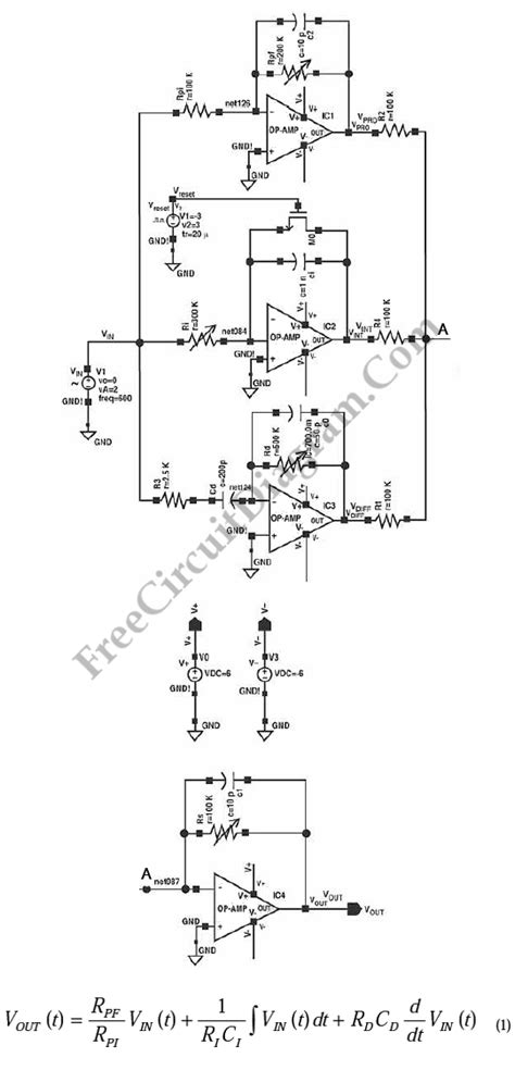 op integrator pdf integral circuit using op 28 images integrator lifier circuit project in multisim op linear