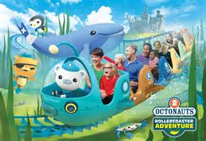 octonauts rollercoaster adventure coming cbeebies land alton towers resort fun kids