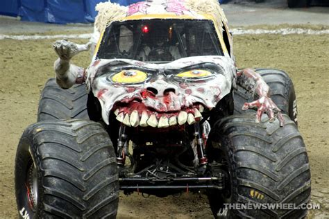 zombie monster jam truck zombie on the brain spotlight on monster jam s popular