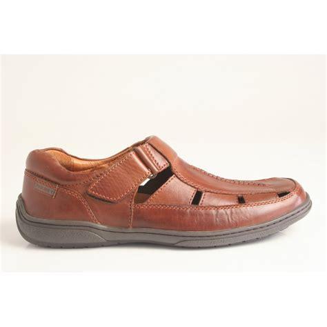pikolinos pikolinos slip on sandalised shoe in cuero
