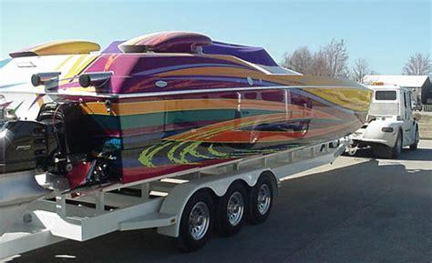 boat crash douglas skater powerboat douglas marine bullock marine high