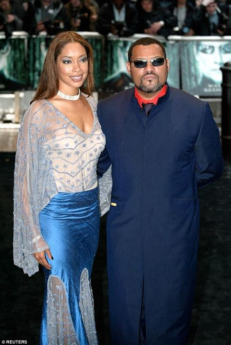 Trouble in Paradise? Actor Laurence Fishburne's Wife, Gina