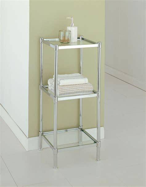 Glacier Three Tier Shelf By Neu Home In Bathroom Shelves Three Tier Bathroom Shelf