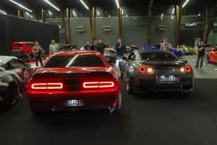 Nissan Srt Challenger Hellcat Vs Gtr Autos Post