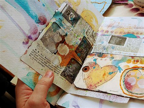 art journal layout ideas art journal with me 7 links to get you started with art