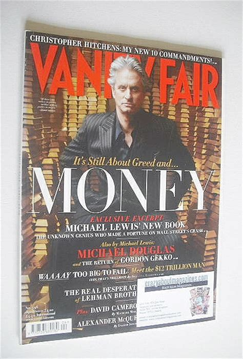 6 Beautiful On 6 April 2010 Magazine Covers by Vanity Fair Magazine Michael Douglas Cover April 2010