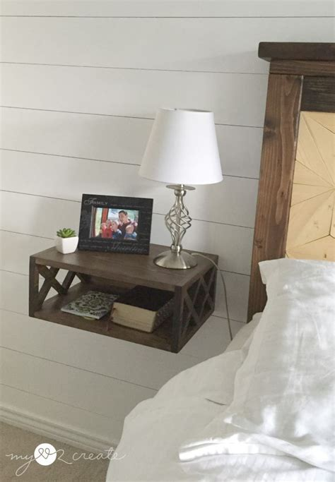 Diy Floating Shelf Nightstand floating stand my 2 create home diy how to