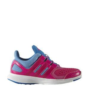 childrens adidas hyperfast   pink lace  running