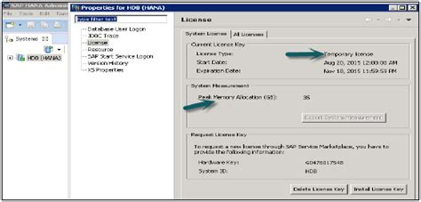 tutorialspoint hana sap hana license management
