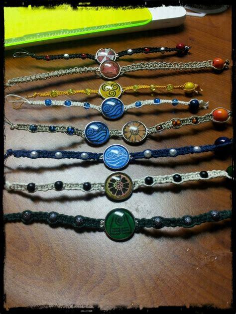 avatar the last airbender themed bracelets bling