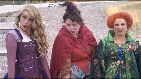 hocus pocus sanderson sisters costumes youtube