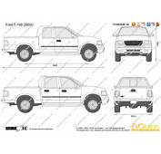 The Blueprintscom  Vector Drawing Ford F 150