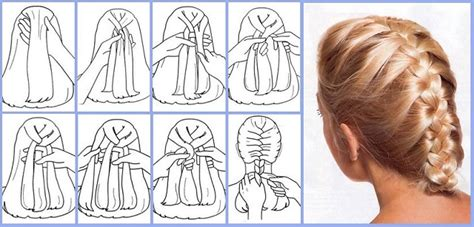 Howtodo A Twist In Thefringe Step By Step | french braid step by step with pictures and detailed
