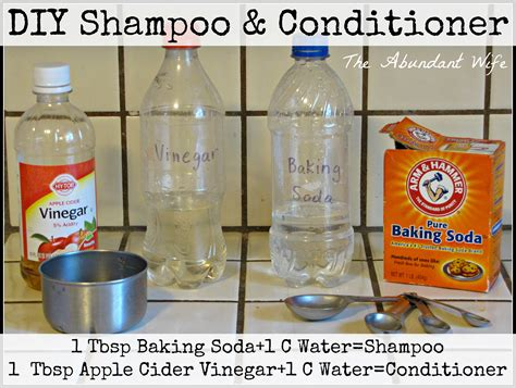 Handmade Conditioner - how to make diy shoo conditioner the abundant