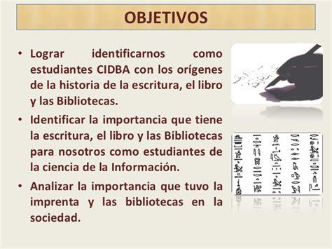 libro host la importancia de importancia de la escritura el libro y las biblioteca para el estudi