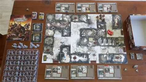 Zombicide Black Plague Board Original Boardgame zombicide black plague the humble gamer