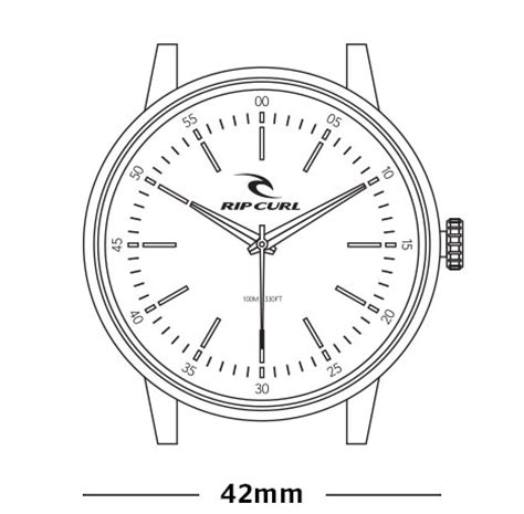 Rip Curl Rp 2201 Blbrgr Leather midnight leather mens surf style watches rip curl asia