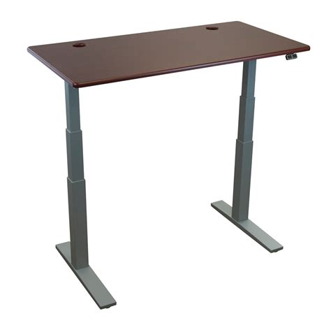 stand up desk table top thermodesk upsilon table top by imovr ergocanada