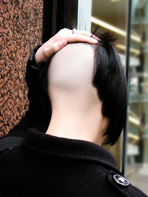 ladies nape shaves high nape shaved smooth head shave pinterest smooth