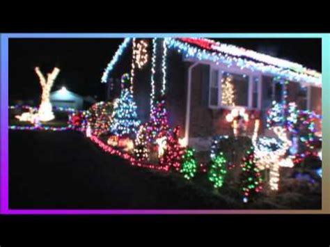 holiday christmas lights 2011 roanoke virginia youtube