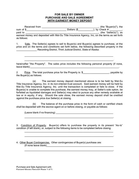 house for sale by owner contract template agreement template category page 56 efoza