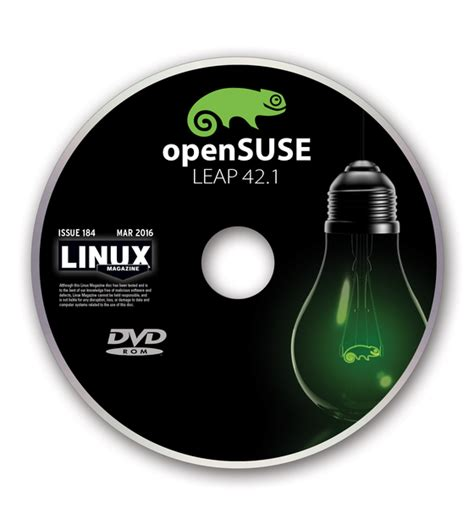 Linux Opensuse 42 Leap 64 Bit on the dvd 187 linux magazine