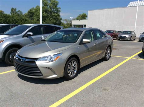 Toyota Camry Hybrid Xle New 2017 Toyota Camry Hybrid Xle Cvt For Sale In Kingston