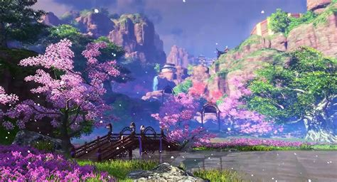 beautiful video moonlight blade online 天涯明月刀 ol show beautiful graphics in