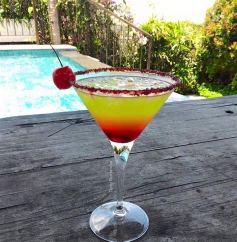 cherry lemonade cocktail top shelf pours