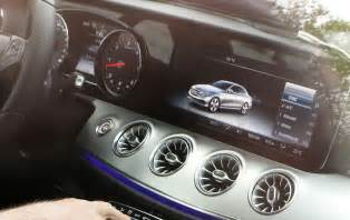 new 2018 mercedes e class coupe s interior exposed
