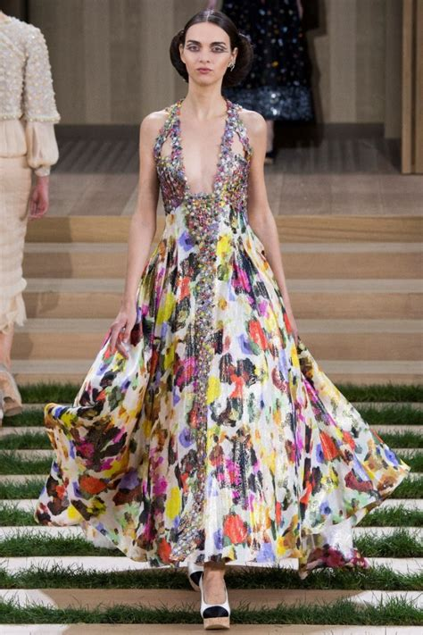 Dress Chanell 4 chanel haute couture style canadian fashion and