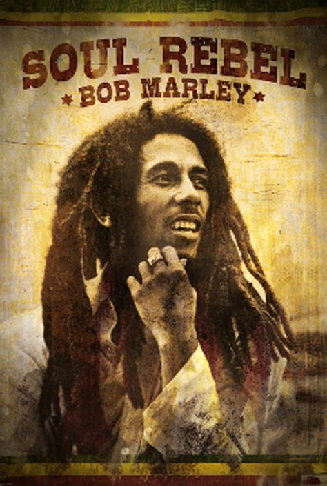 24x36 bob marley soul rebel poster print ebay