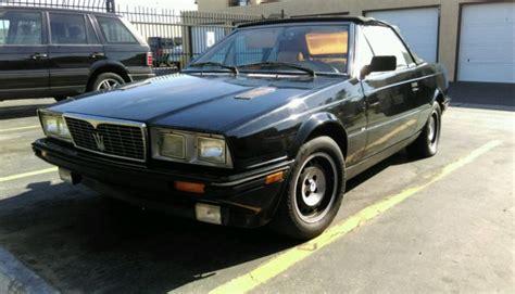 1987 maserati zagato 1987 maserati biturbo spyder zagato convertible fuel
