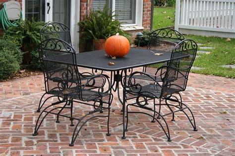 small brick patio black patio furniture patio landscaping