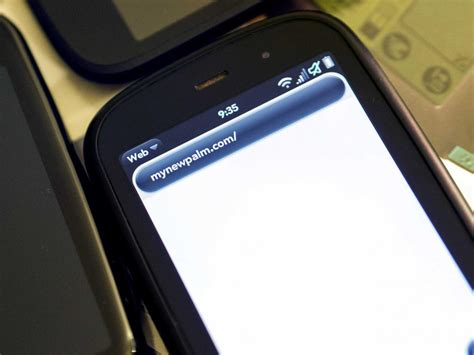 Hp Alcatel One Touch it looks like alcatel onetouch purchased the palm