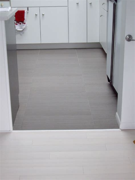 gray kitchen floor tile white bamboo floor and quot linen quot like gray ceramic tile with