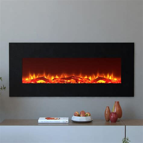 electric fireplace houston moda houston 50 in electric wall mounted fireplace