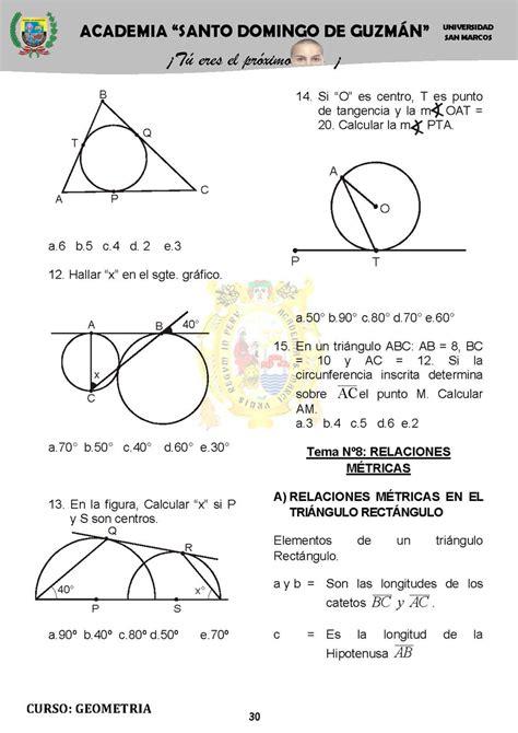 C M B 30 ejercicios pr 225 cticos de geometr 237 a p 225 2 monografias