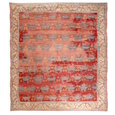 antique turkish oushak rug at 1stdibs
